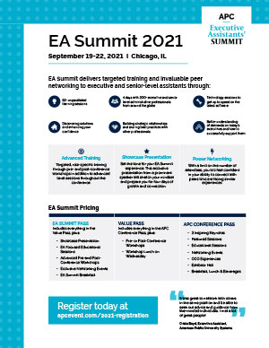 EA Summit brochure thumbnail